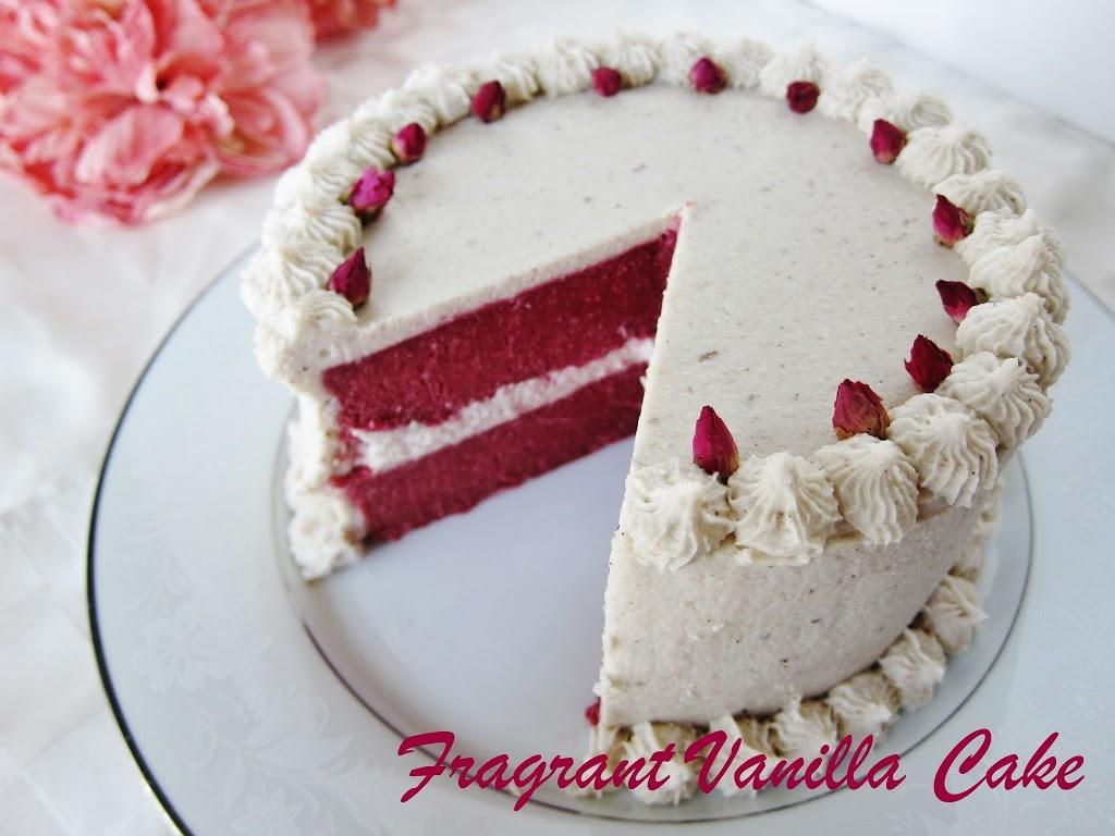 Raw Red Velvet Cake