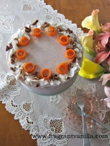 Festive Carrot Cake 6