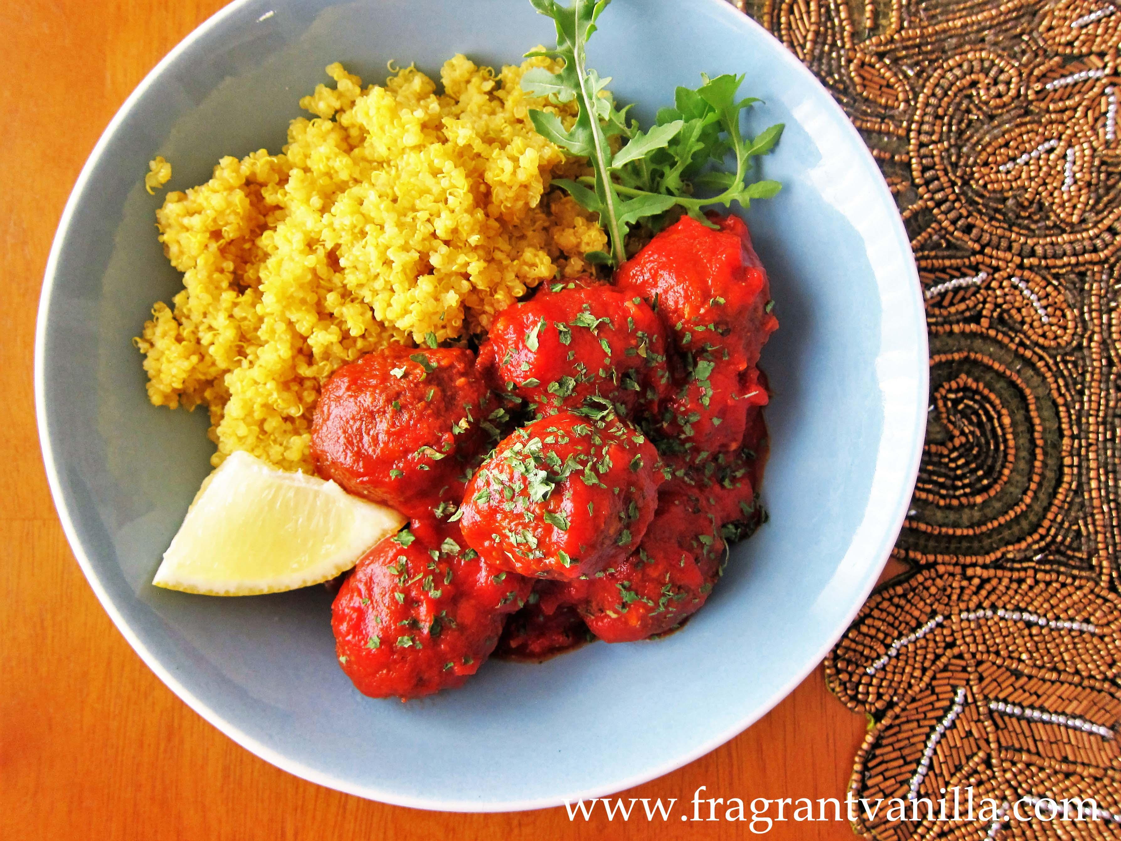 Vegan Moroccan Lentil Meatballs