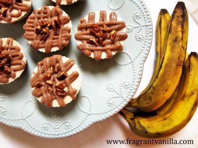 Mini Caramel Pecan Banana Cream Cheesecakes 3