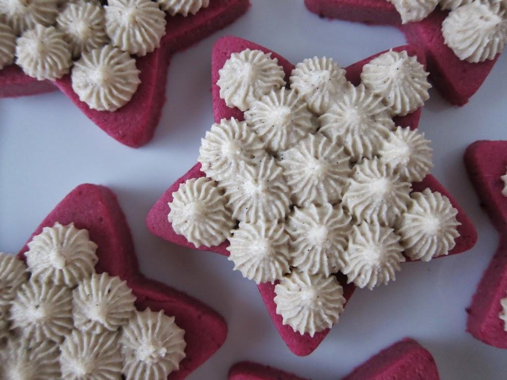 Raw Red Velvet Cookies