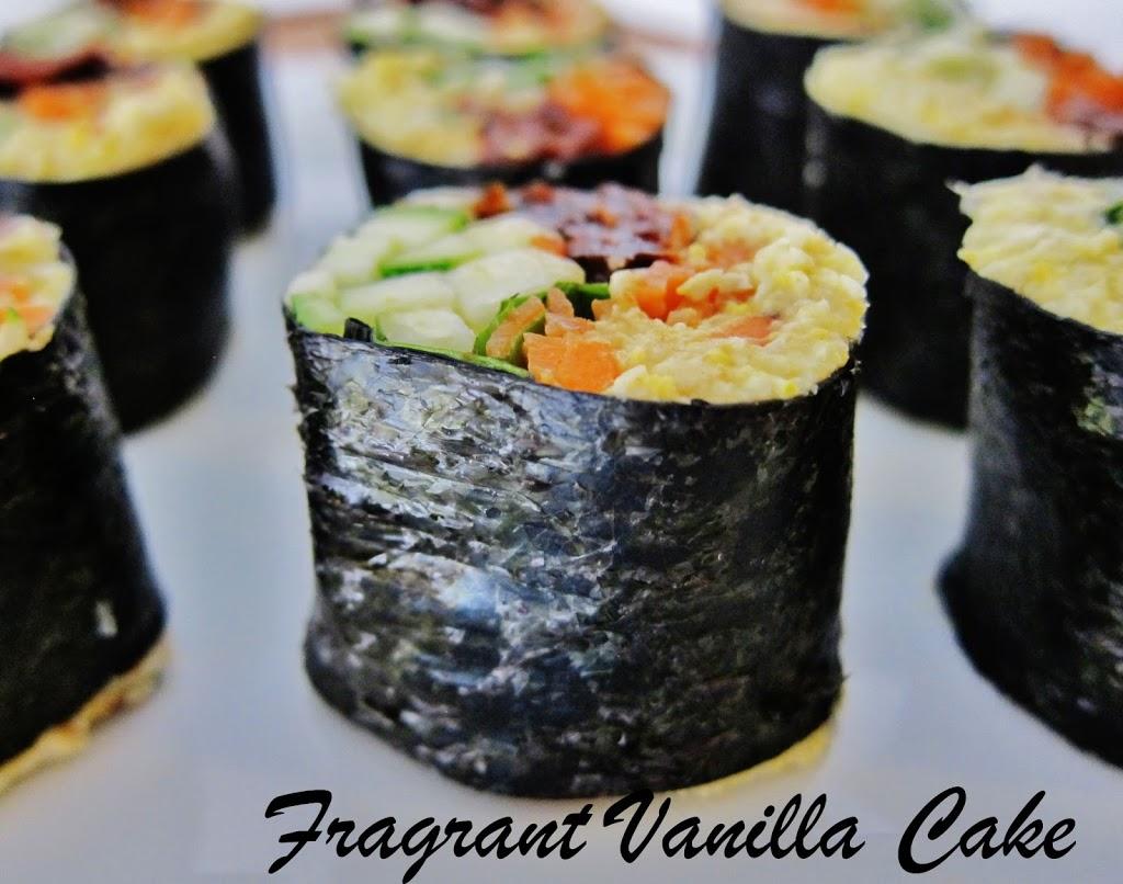 Raw Summer Sushi Rolls