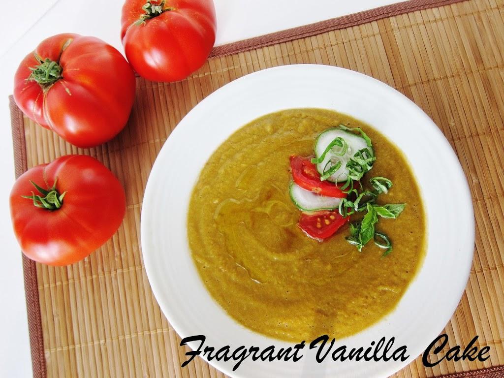Garden Vegetable Gazpacho