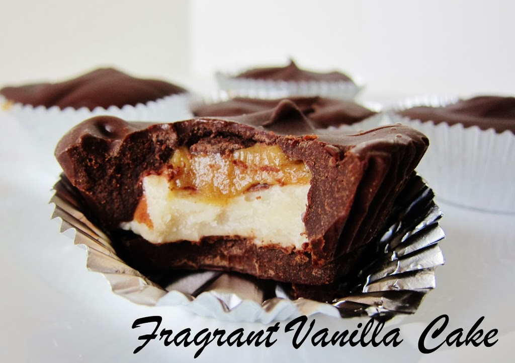 Raw Macadamia Butter Caramel Cups