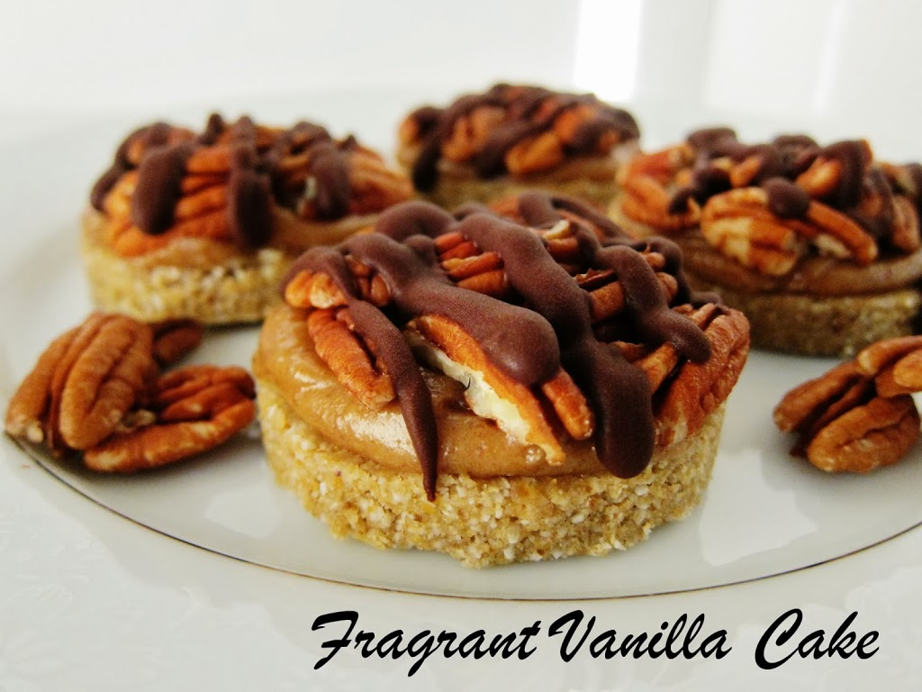 Mini Pecan Caramel Tartlettes