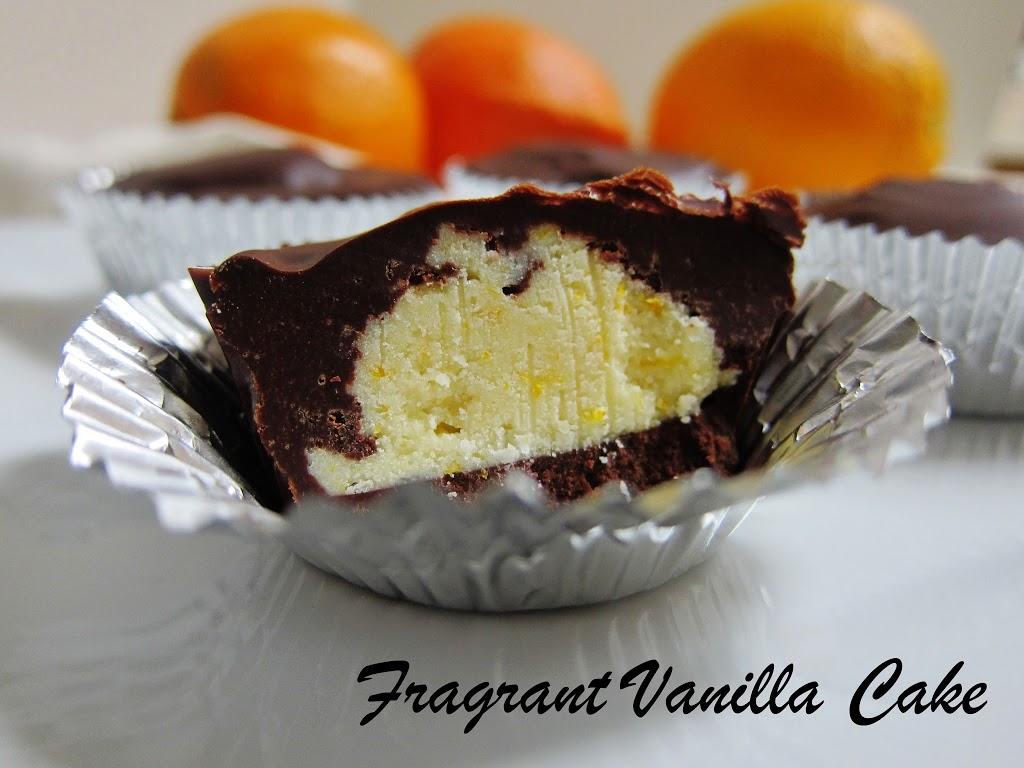 Raw Chocolate Orange Creamsicle Cups