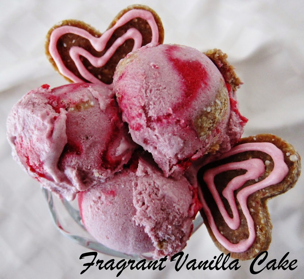 Raw Love Berry Ice Cream