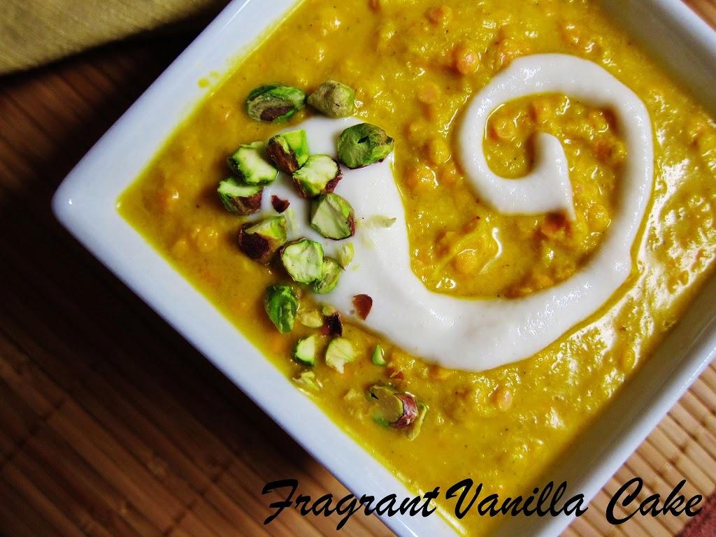 Warming Lentil Yam Soup