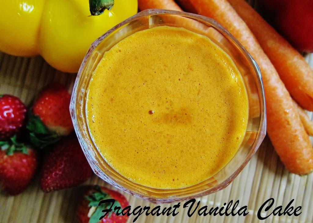 Pep Me Up Carrot Juice