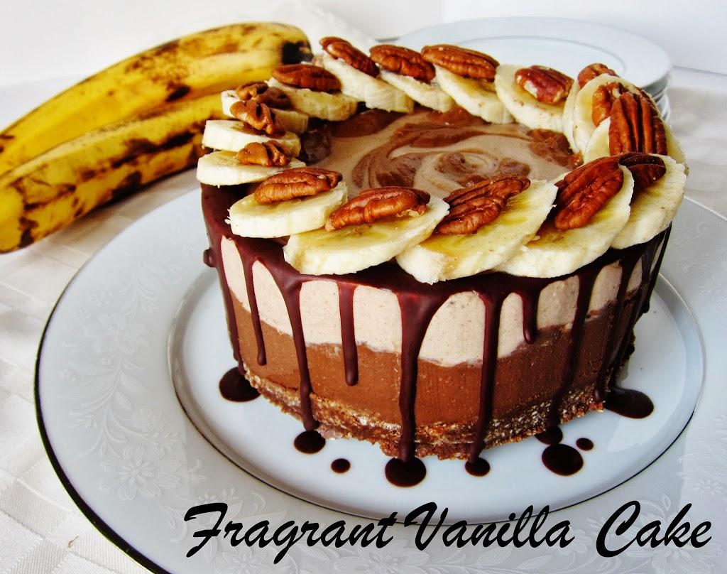 Raw Banana Turtle Mousse Cake