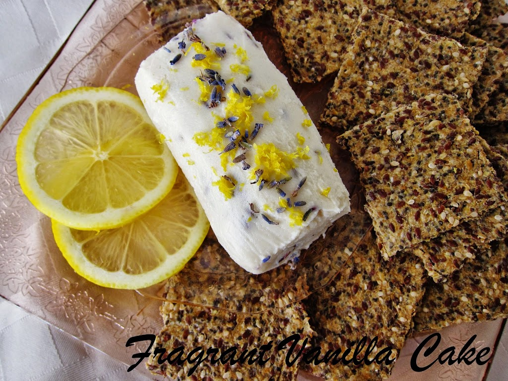 Raw Lavender Lemon Chevre