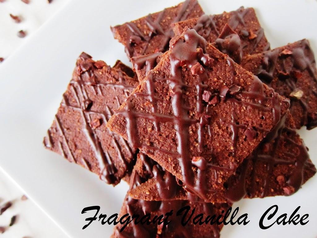 Raw Brownie Brittle