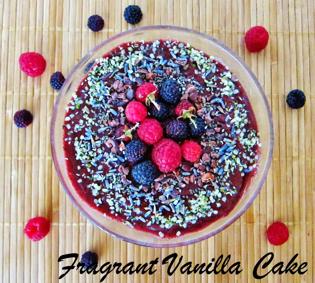 Lavender Raspberry Cacao Smoothie Bowl