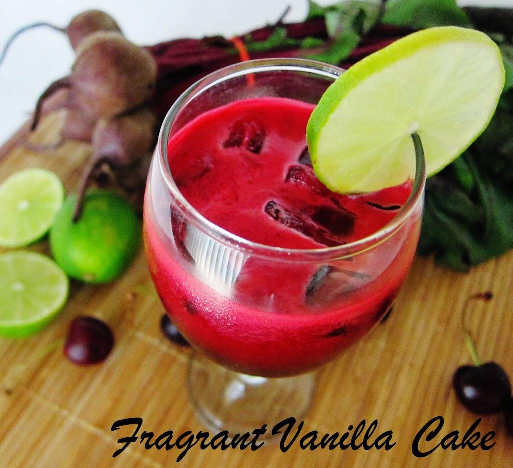 Cherry Beet Sangria