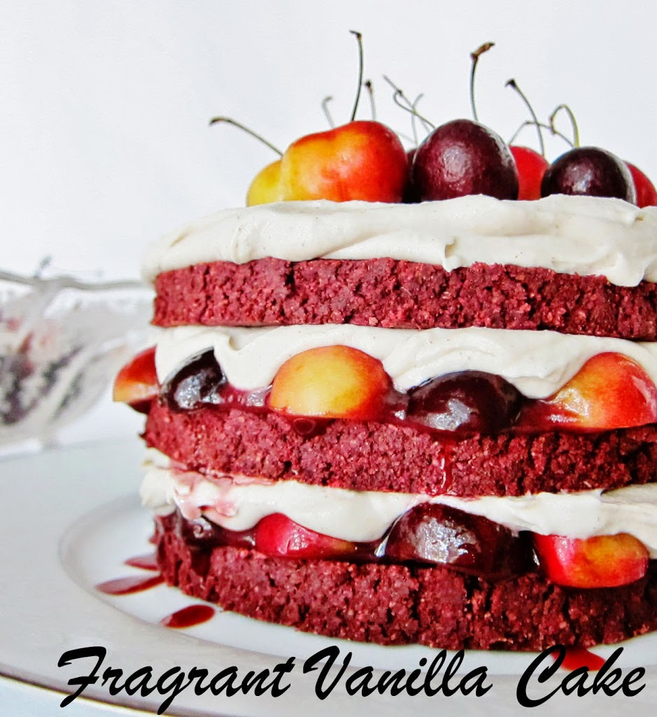 Raw Black Forest Layer Cake