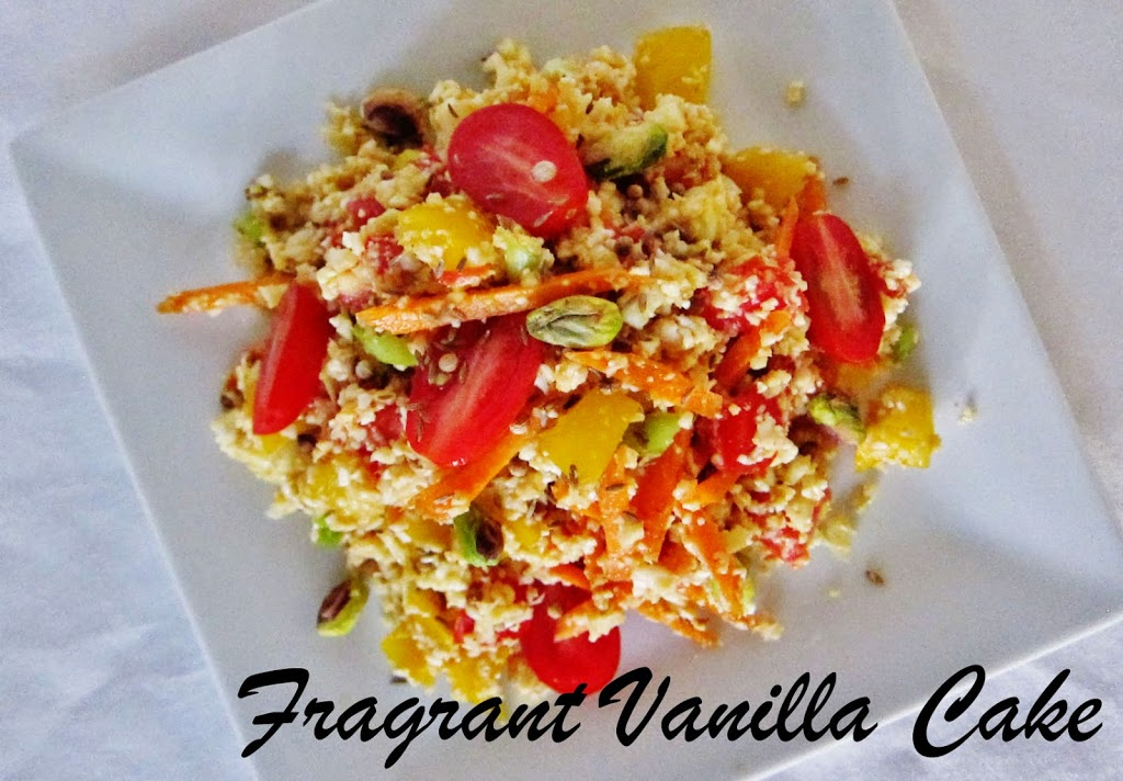 """Raw Moroccan Spiced """"Couscous"""""""