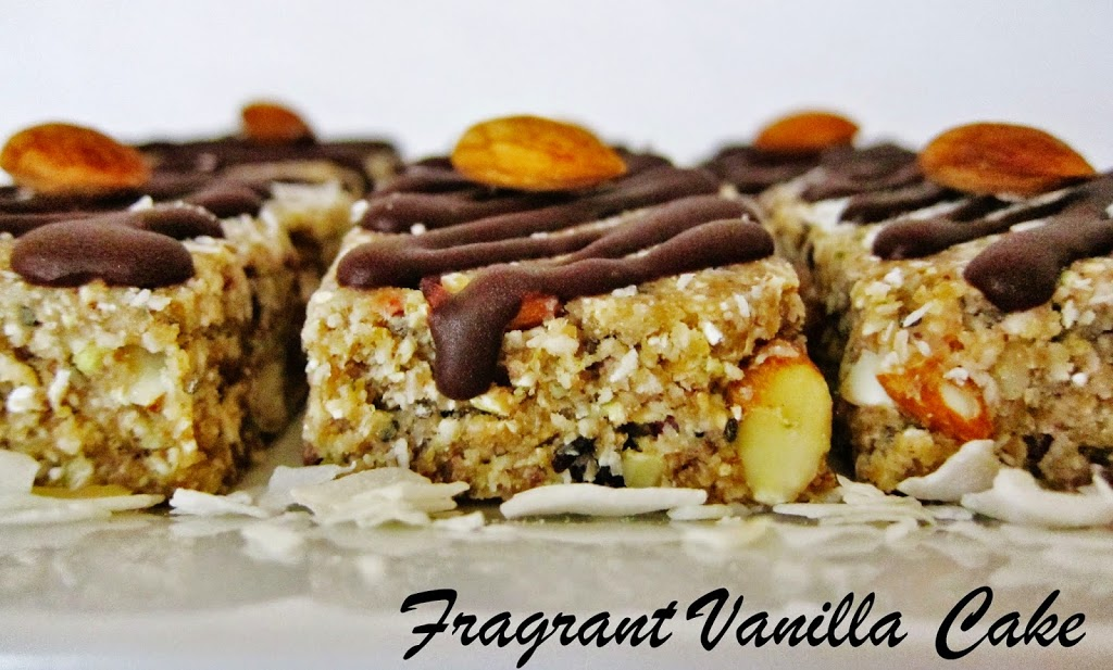 Raw Almond Joy Energy Bars