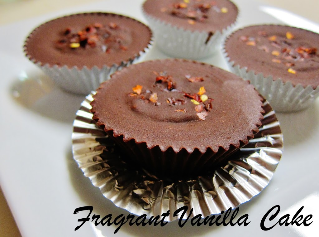 Chipotle Caramel Apple Chocolate Cups