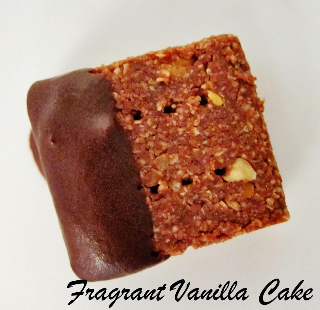 Raw Pecan Mocha Shortbread | Fragrant Vanilla Cake