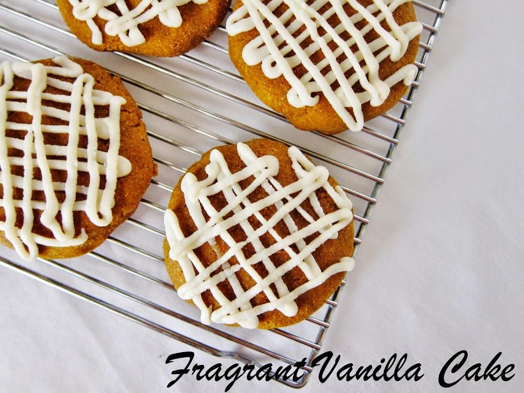 Raw Soft Pumpkin Cookies