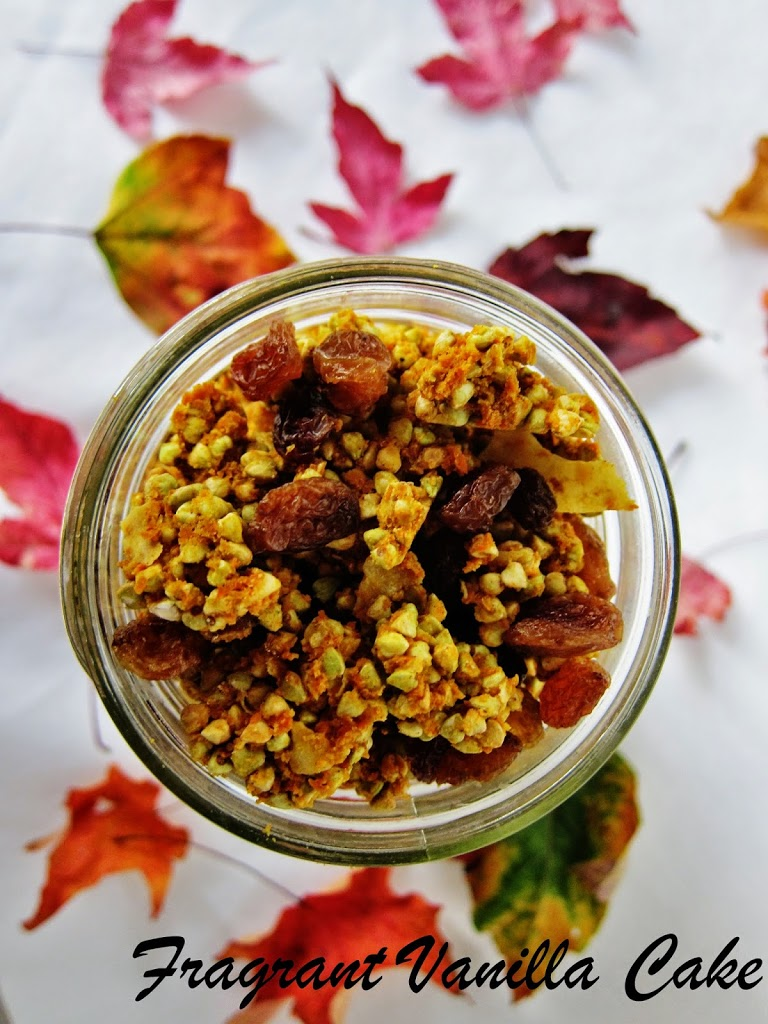 Raw Pumpkin Spice Granola