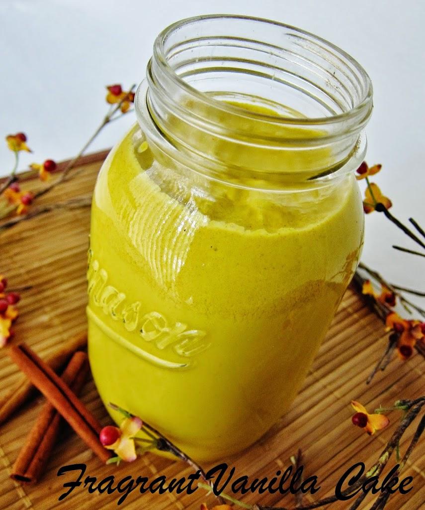 Raw Pumpkin Spice Coconut Milk