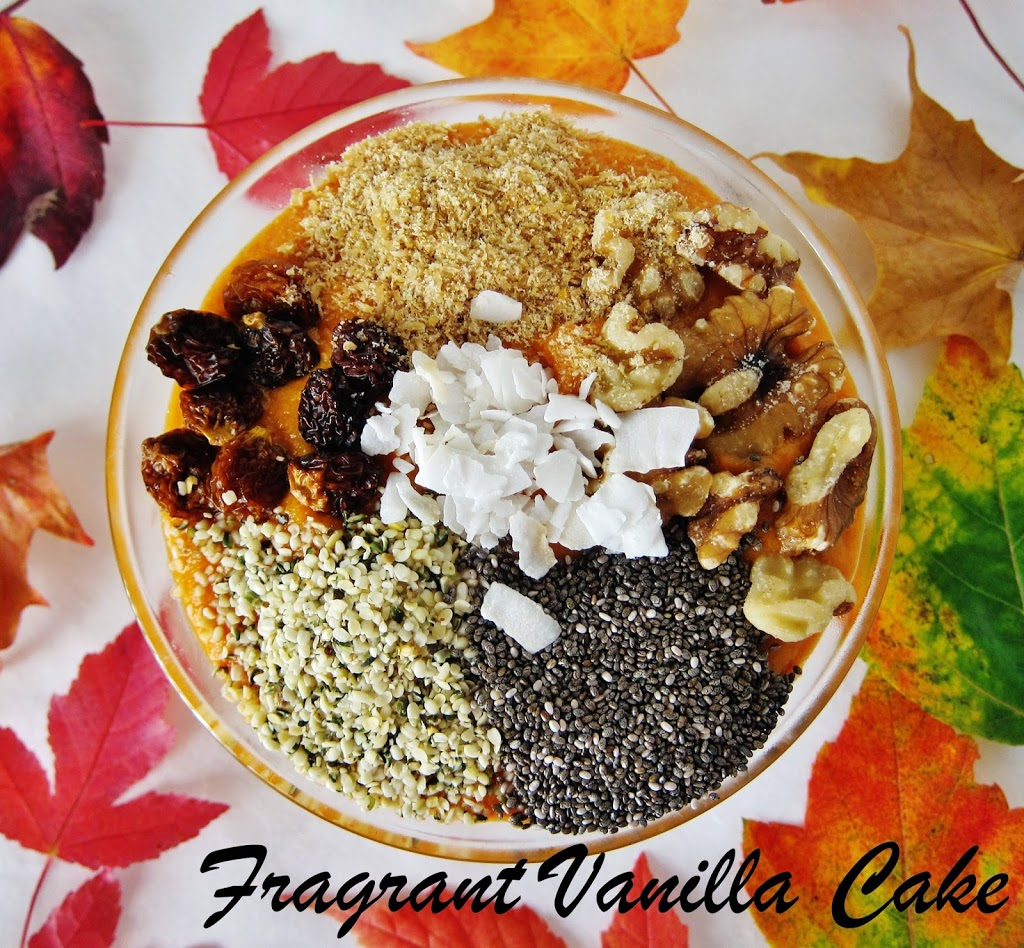 Autumn Bliss Smoothie Bowl