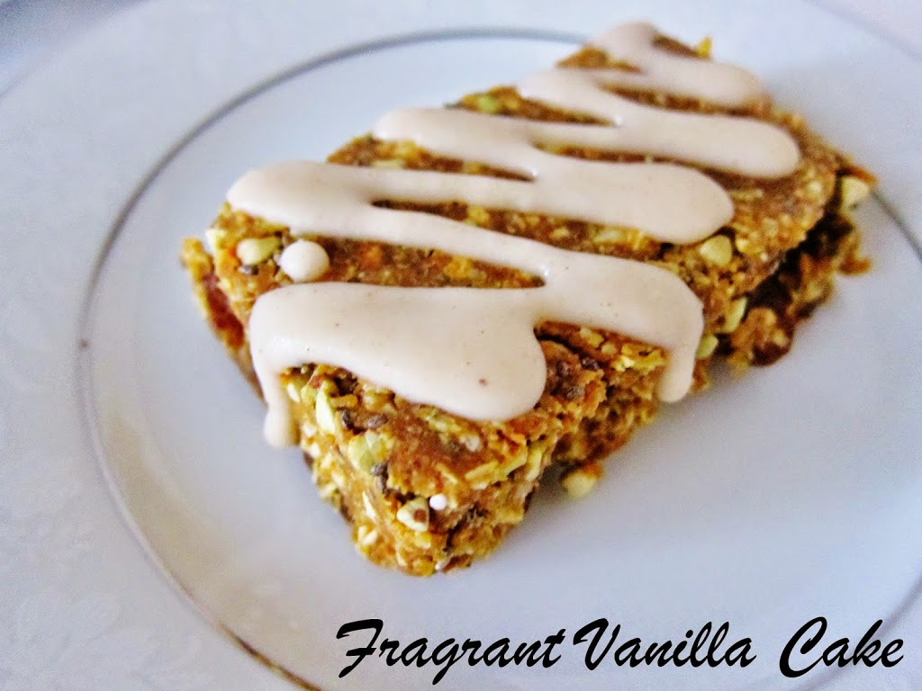 Raw Pumpkin Spice Energy Bars