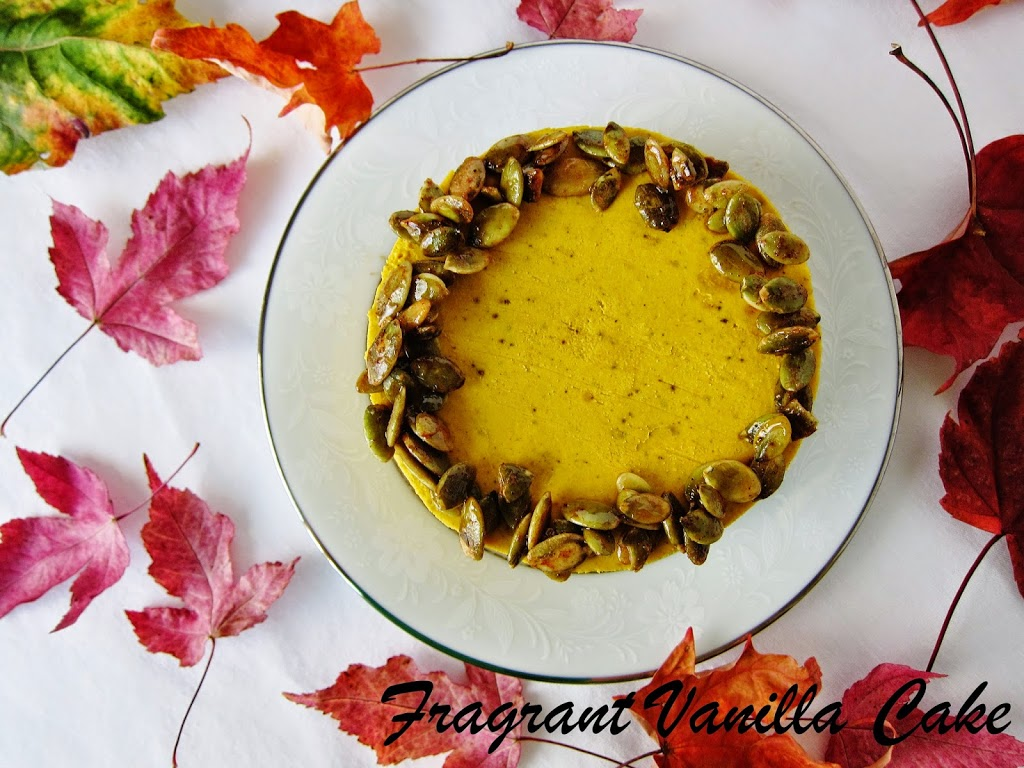 Mini Raw Pumpkin Spice Yogurt Cheesecakes