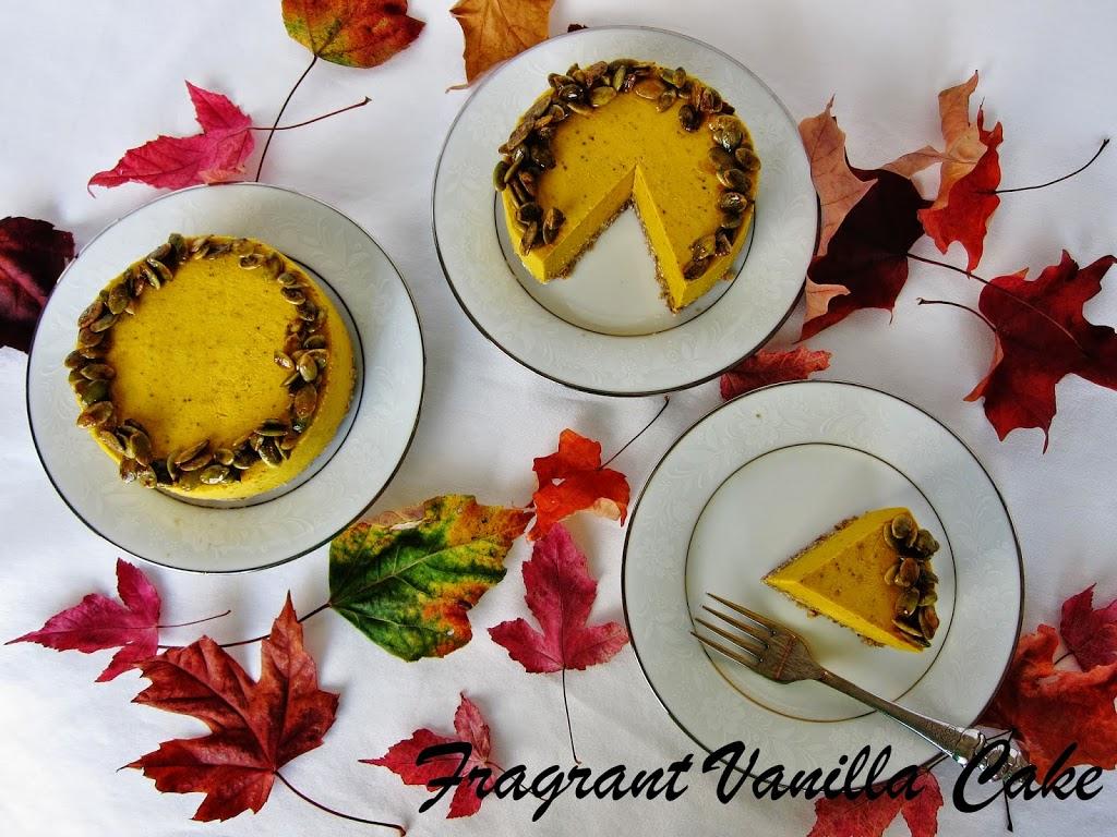 Pumpkin yogurt cake recipe