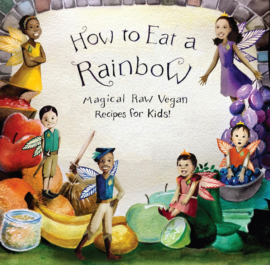 How To Make A Rainbow Book Cover : How to eat a rainbow book review and givaway fragrant