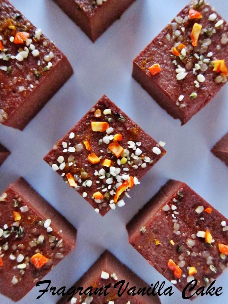 Raw Superfood Tangerine Cacao Fudge