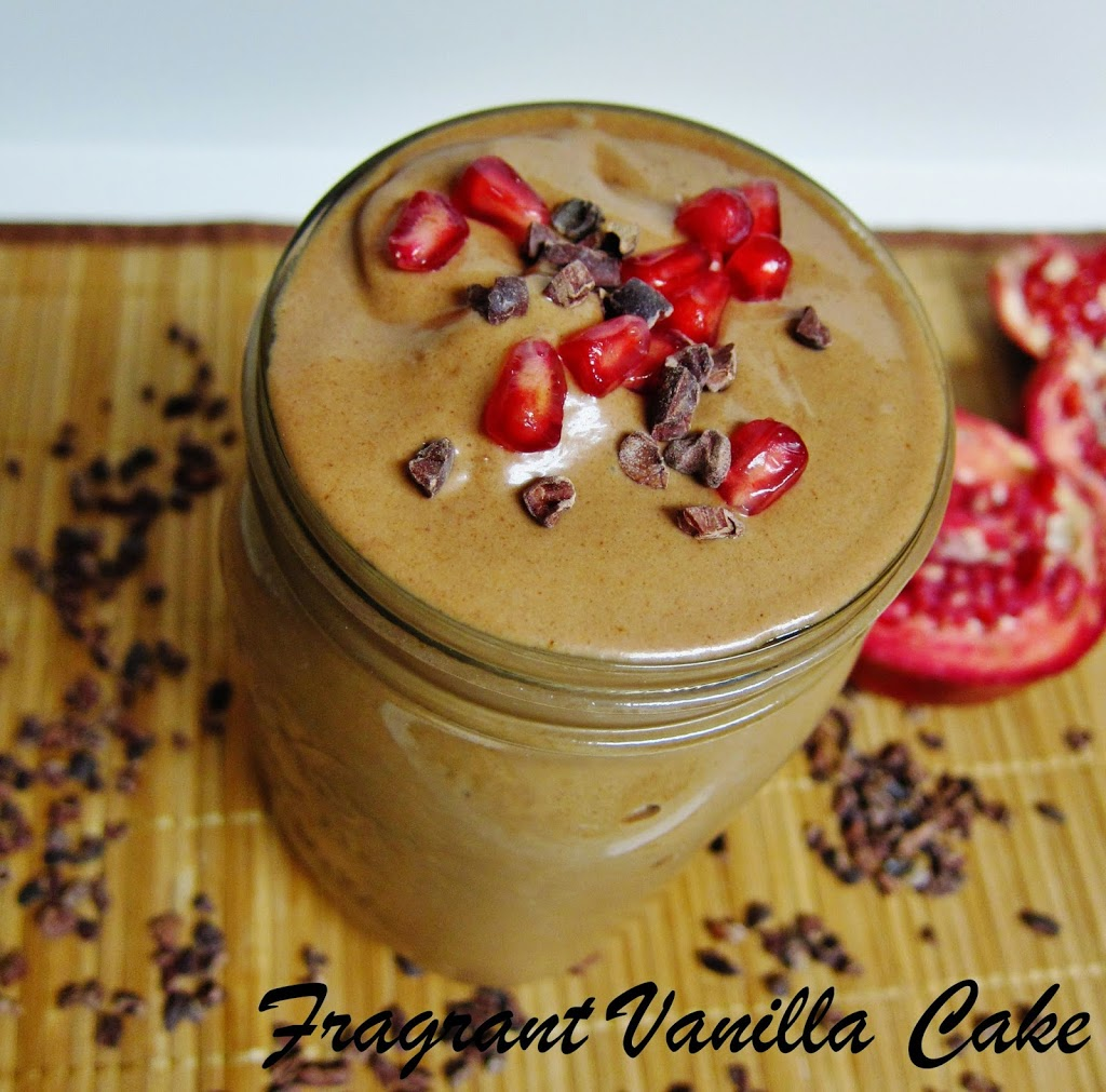 Raw Cacao Pomegranate Love Smoothie