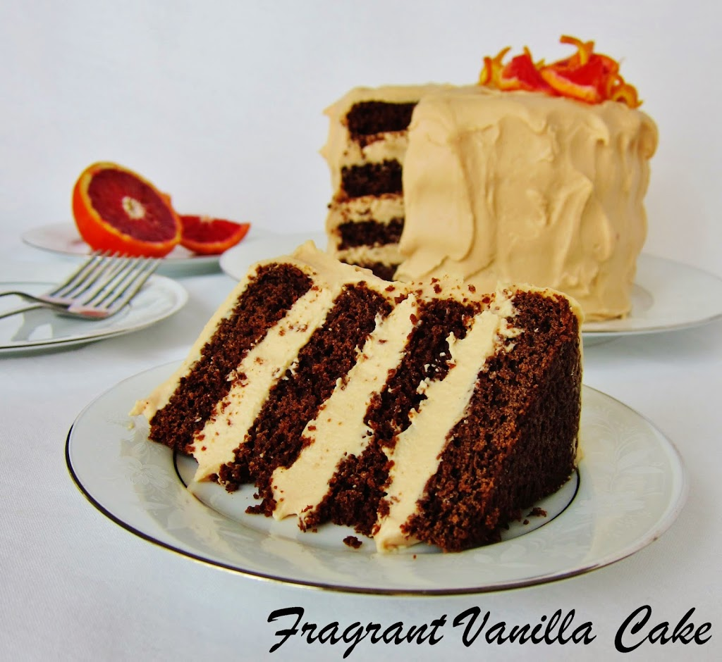 ... Blood Orange Layer Cake (gluten free) | Fragrant Vanilla Cake