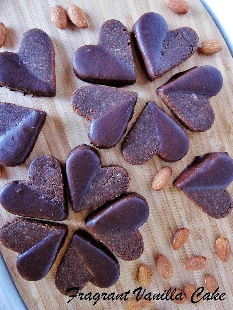 Raw Chocolate Maca Almond Butter Cookies