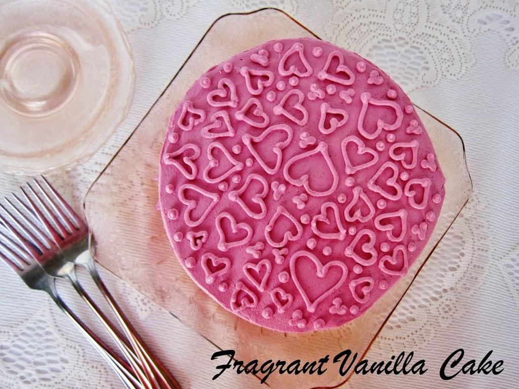 Vegan Strawberry Almond Layer Cake