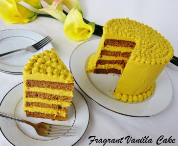 Mango Carrot Cake 4