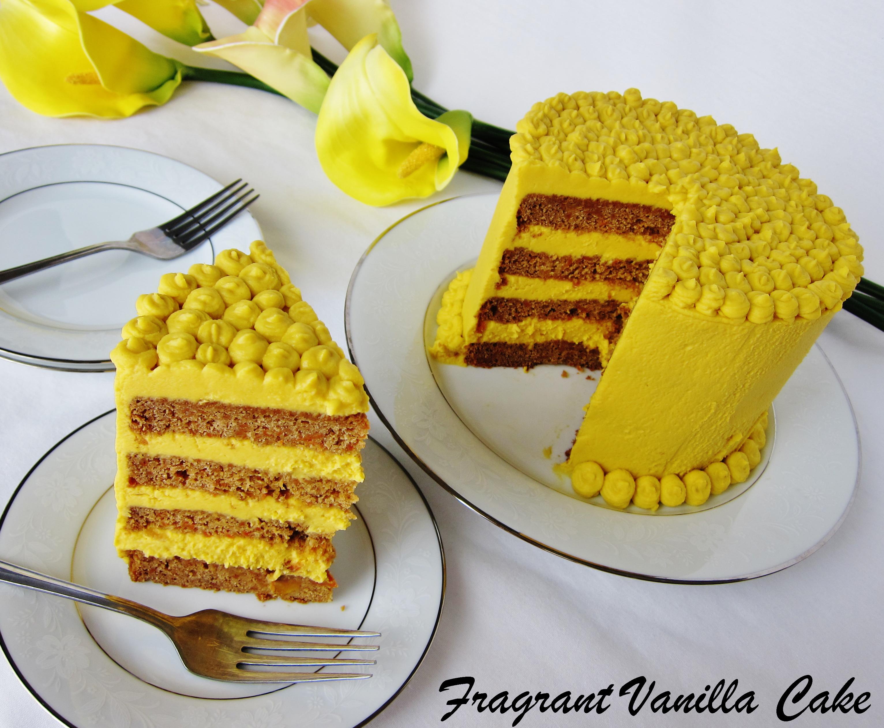 Vegan Mango Carrot Cake