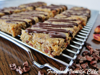 Peanut Butter Chocolate Chip Energy Bars 1