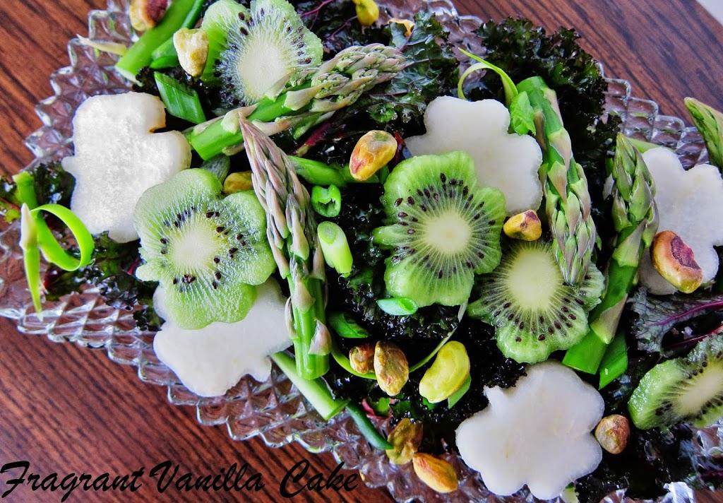 Spring Green Kale Salad