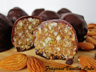 Almond Crunch Truffles 1