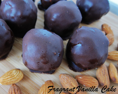 Almond Crunch Truffles