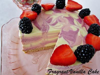 Berry Mango Cake 3