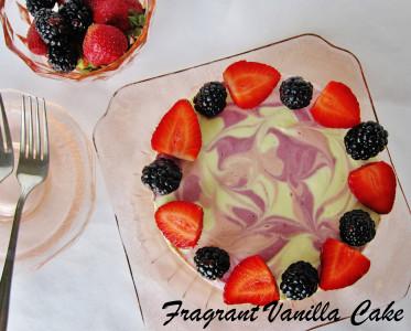 Berry Mango Cake