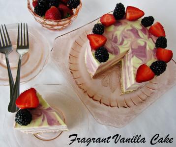 Berry Mango Cake 5