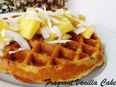 Pina Colada Waffles 1