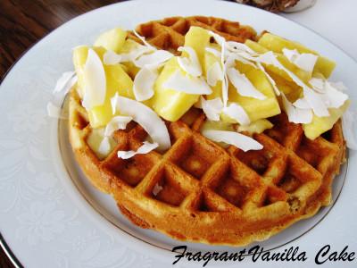 Pina Colada Waffles 2