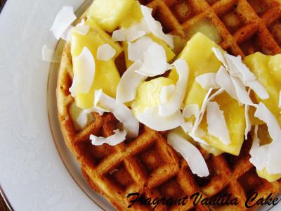 Pina Colada Waffles 3