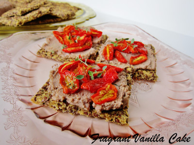 Walnut Chevre Tomato Flatbreads 2