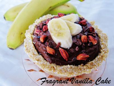Chocolate Banana PB Cream Pies 1